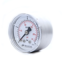 Manodruck pressure gauge 40mm brass internals