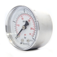 Manodruck pressure gauge 50mm brass internals